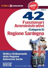 42 Funzionari Amministrativi Categoria D - Regione Sardegna - Librerie.coop