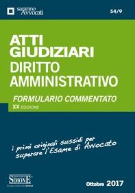 Atti Giudiziari Diritto Amministrativo - Librerie.coop