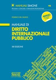 Manuale di Diritto Internazionale Pubblico - Librerie.coop