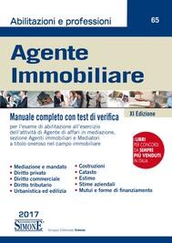 Agente Immobiliare - Manuale completo con test di verifica - copertina