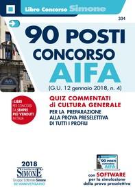 90 posti Concorso AIFA - Librerie.coop