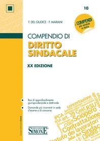Compendio di Diritto Sindacale - Librerie.coop