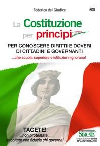 La Costituzione per princìpi - Librerie.coop