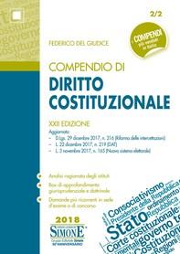 Compendio di Diritto Costituzionale - Librerie.coop