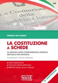 La Costituzione a Schede - Librerie.coop