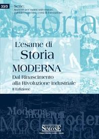 L'esame di Storia moderna - Librerie.coop