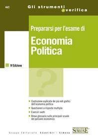 Prepararsi per l'esame di Economia Politica - Librerie.coop