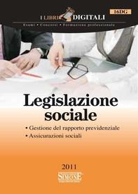 Legislazione sociale - Librerie.coop