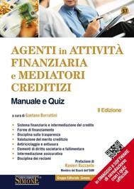 Agenti in attività finanziaria e mediatori creditizi - Manuale e quiz - copertina