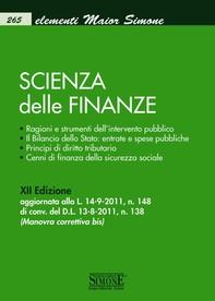 Elementi Maior di Scienza delle Finanze - Librerie.coop