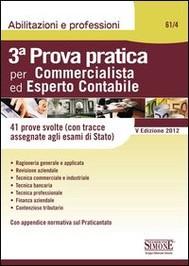 3ª Prova pratica per Commercialista ed Esperto Contabile - copertina