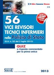 56 Vice Revisori Tecnici Infermieri nella Polizia di Stato - copertina