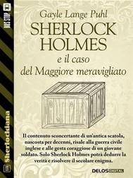Sherlock Holmes e il caso del Maggiore meravigliato - copertina