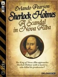 A Scandal in Nova Alba - copertina