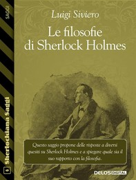 Le filosofie di Sherlock Holmes - Librerie.coop