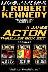 A James Acton Box Set - Books 4-6 - copertina