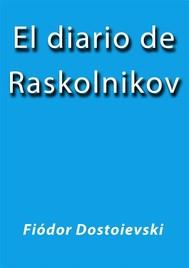 El diario de Raskolnikov - copertina