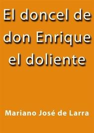 El doncel de don Enrique el doliente - copertina