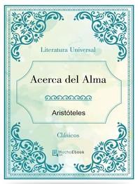 Acerca del Alma - Librerie.coop