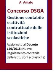 Concorso DSGA - La gestione contabile e l'attività contrattuale delle istituzioni scolastiche - copertina