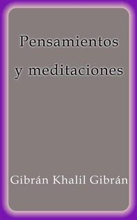 Pensamientos y meditaciones - Librerie.coop