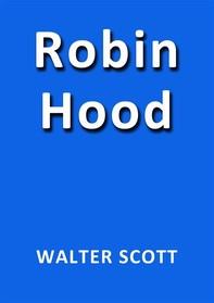 Robin Hood de Walter Scott - Librerie.coop