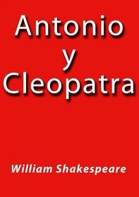 Antonio y Cleopatra - Librerie.coop