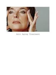 Anti Aging Treatment - copertina