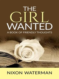 The Girl Wanted – A book of friendly thoughts - copertina