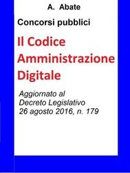 Concorsi pubblici - Il Codice Amministrazione Digitale - copertina
