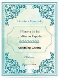 Historia de los judíos en España - copertina
