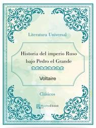Historia del imperio Ruso bajo Pedro el Grande - copertina
