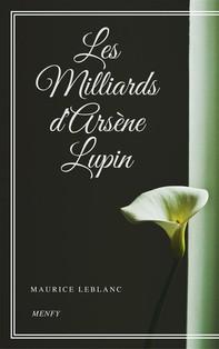 Les Milliards d'Arsène Lupin - Librerie.coop