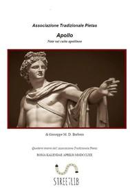 Apollo. Note sul culto Apollineo - copertina