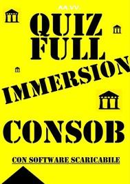 Preselezioni Concorso COADIUTORI CONSOB - QUIZ FULL IMMERSION - copertina