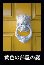 黄色の部屋の謎 - copertina