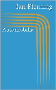 Automobilia - Librerie.coop