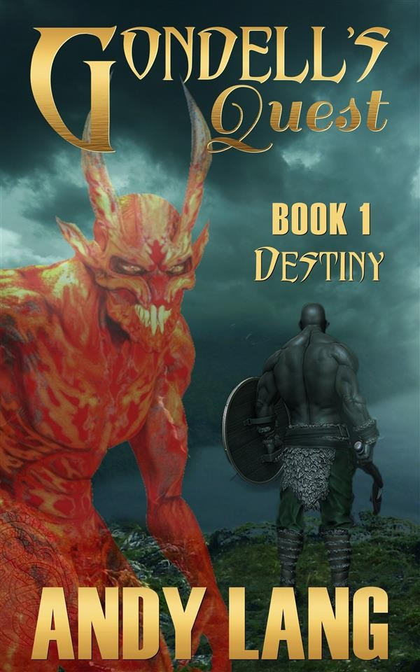 Simple Book Cover Quest : Gondell s quest destiny andy lang ebook bookrepublic