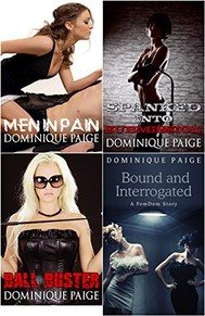 FemDom Bundle: Four Hardcore Stories of Male Humiliation - copertina