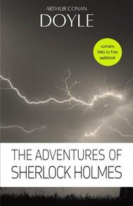 Arthur Conan Doyle: The Adventures of Sherlock Holmes - copertina