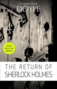 Arthur Conan Doyle: The Return of Sherlock Holmes - copertina