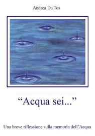 Acqua sei... - copertina