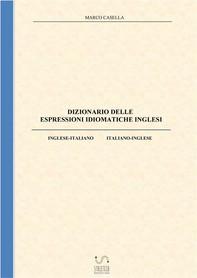 Dizionario delle espressioni idiomatiche inglesi - Librerie.coop