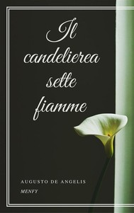 Il candeliere a sette fiamme - copertina