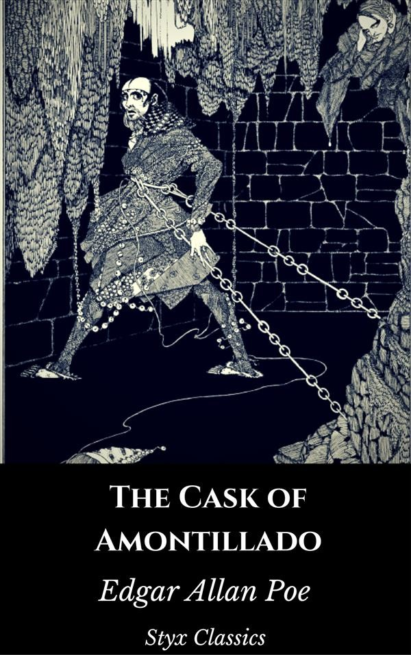 a narrating of a revenge plot in the cask of amontillado by edgar allan poe
