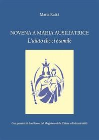 Novena a Maria Ausiliatrice - Librerie.coop
