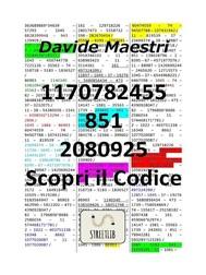 1170782455 – 851 – 2080925 / Scopri il Codice - copertina