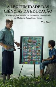 A Legitimidade das Ciências da Educação - copertina