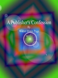 A Publisher's Confession  - copertina