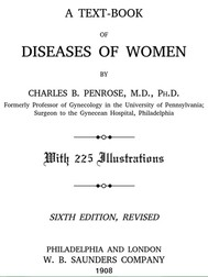 A Text-book of Diseases of Women - copertina